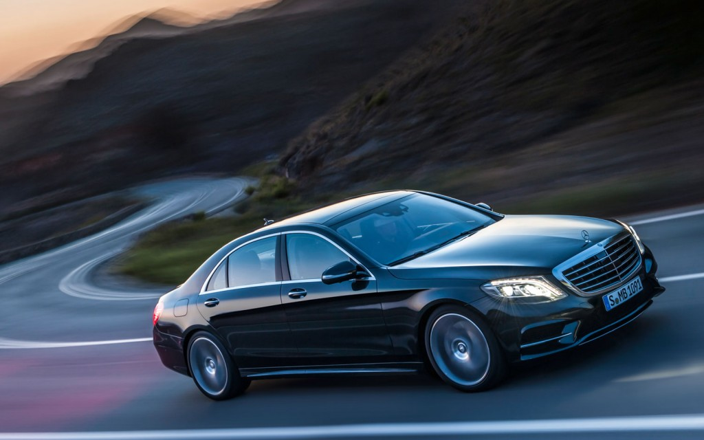 Mercedes S550, Best in Class