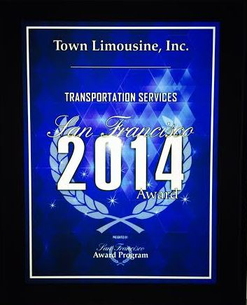 Town Limousine Bay Area Awards